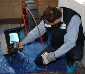 video camera drain inspection