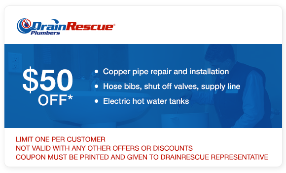 Plumbing coupon Toronto Drain Rescue
