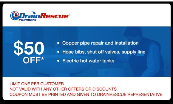 Plumbing coupon Toronto Drain Rescue
