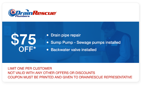 Drain repair coupon Drain Rescue