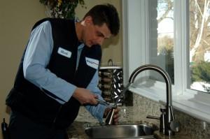 Leaky faucet repair