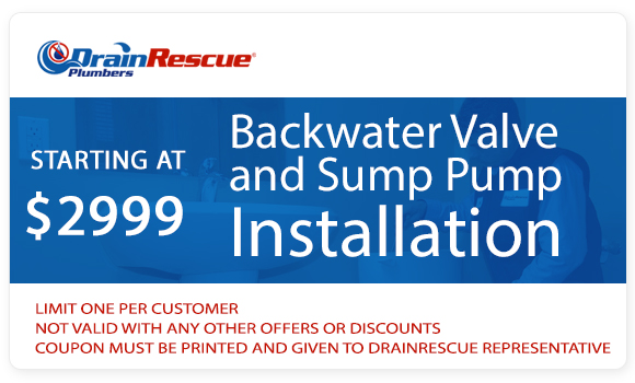 Drain Rescue Backwater valve cost special